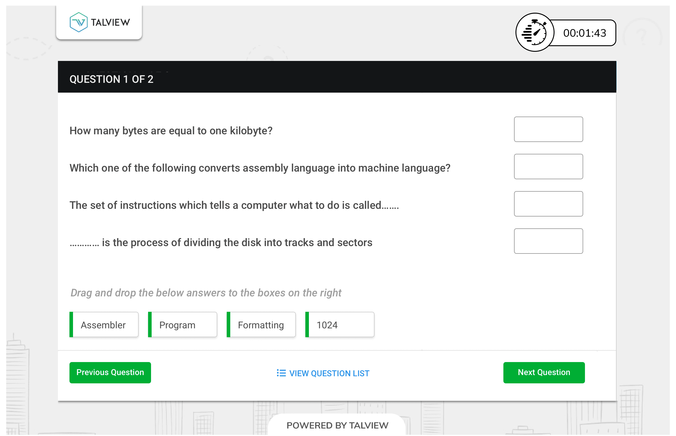 Exam-tool-V2